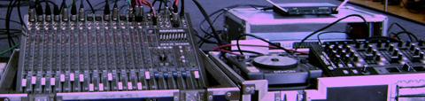 Alquiler de Consolas de Sonido
