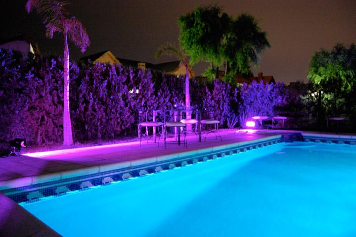 Alquiler de luces for Luces para estanques de jardin